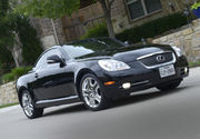 2010 Lexus SC Navigation,  Power Seats,  Power Top,  and Low Miles